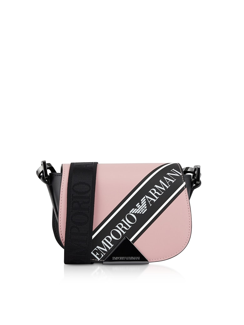 Emporio Armani Signature Shoulder Bag - Pink