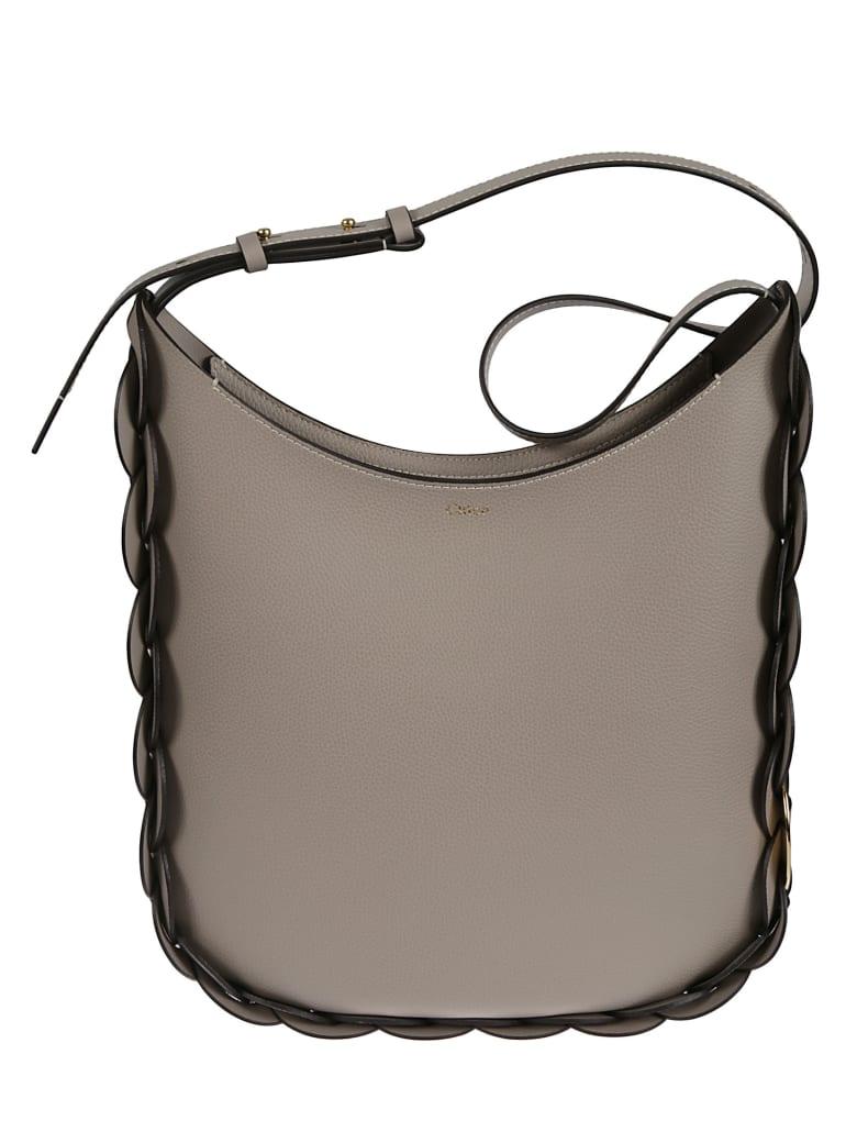 Chloé Darryl Shoulder Bag - Grigio