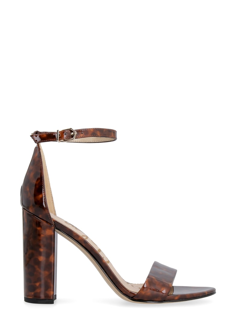 Sam Edelman Yaro Heeled Sandals - brown