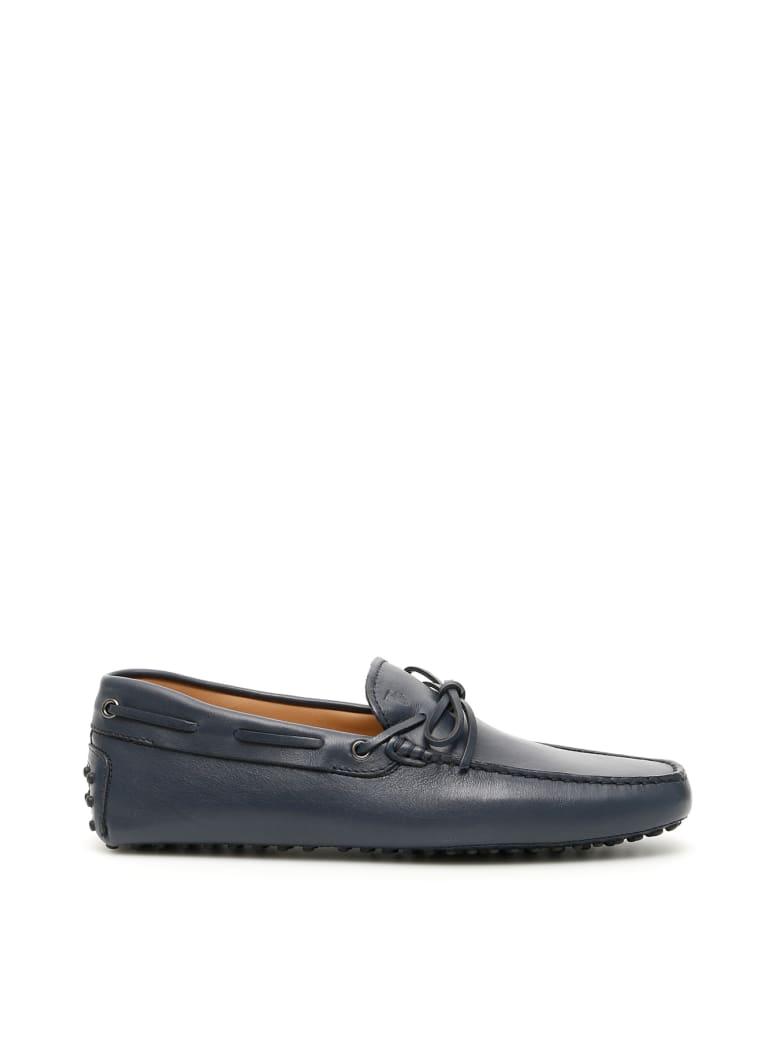 Tod's New Laccetto Gommino Loafers - GALASSIA (Blue)