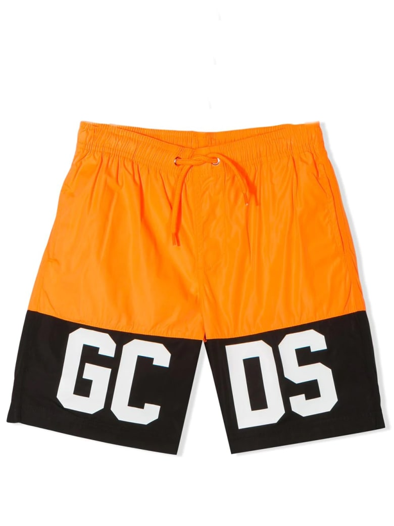 GCDS Mini Gcds Kids - Orange