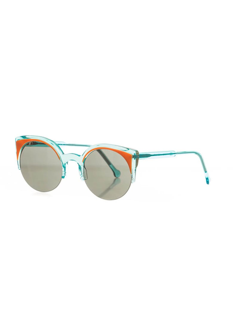 RETROSUPERFUTURE SE LUCIA SURFACE NDL Sunglasses - C Anice