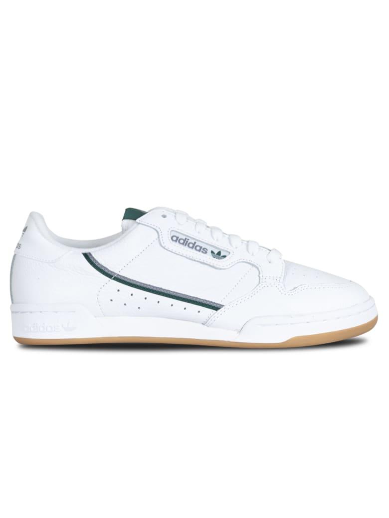 adidas continental 80 bianco