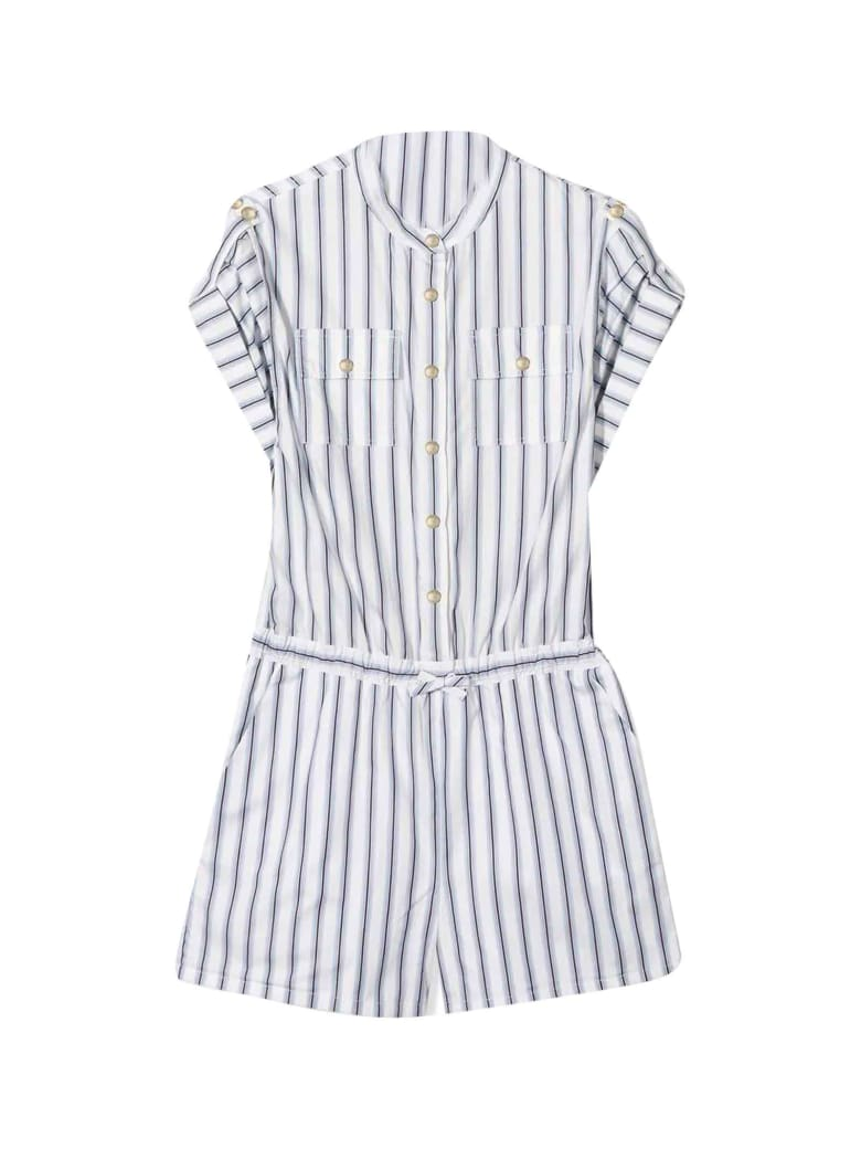 Chloé White And Blue Chloé Kids Suit - Unica