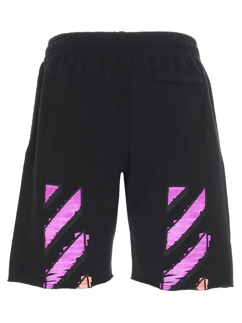 Off-White 'marker' Shorts - Black