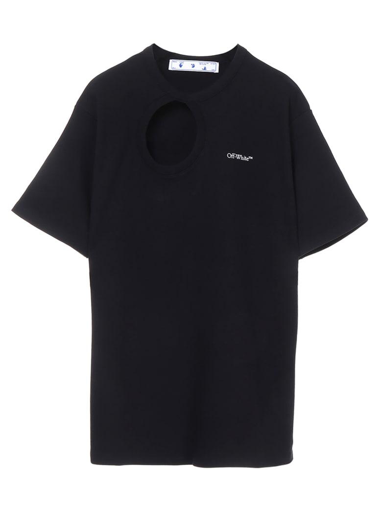 Off-White 'meteor' T-shirt - Black