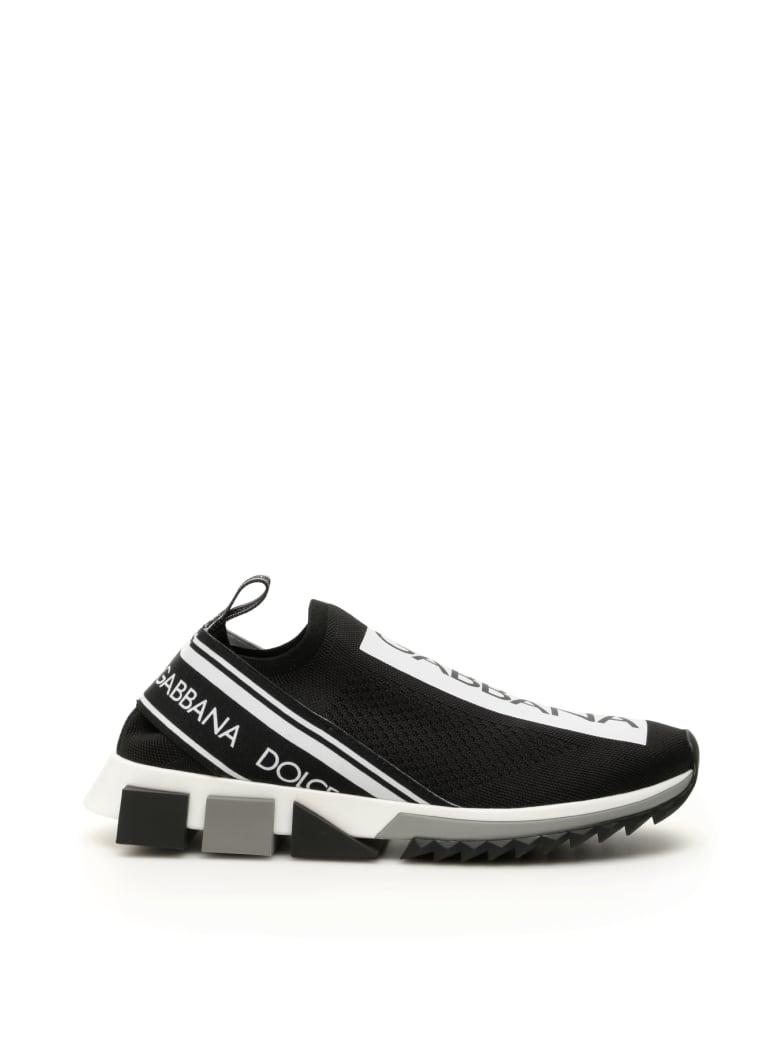 Dolce & Gabbana Running Knit Sneakers - Nero