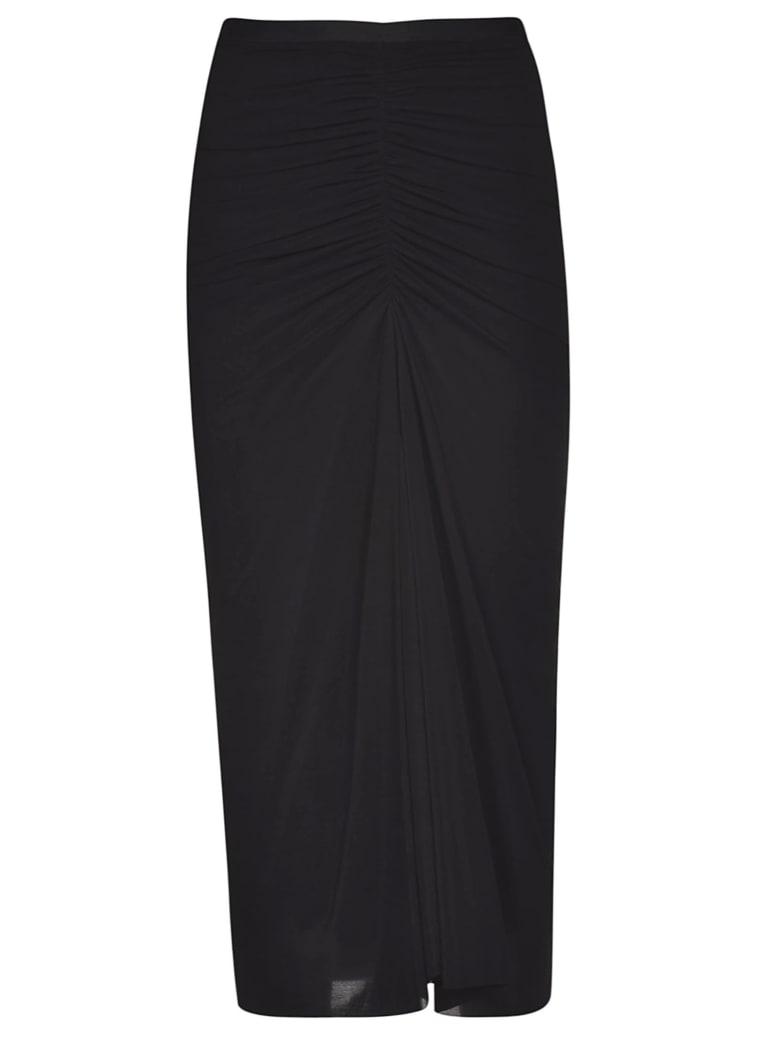 Rick Owens Lilies Gathered Skirt - Black