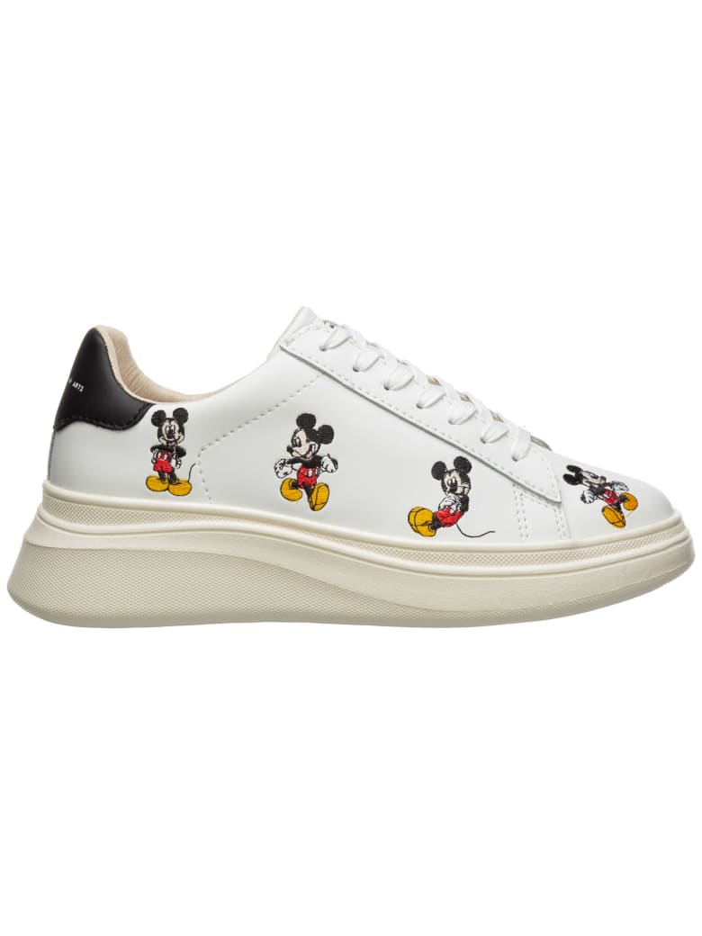M.O.A. master of arts Moa Master Of Arts Disney Sneakers - Bianco