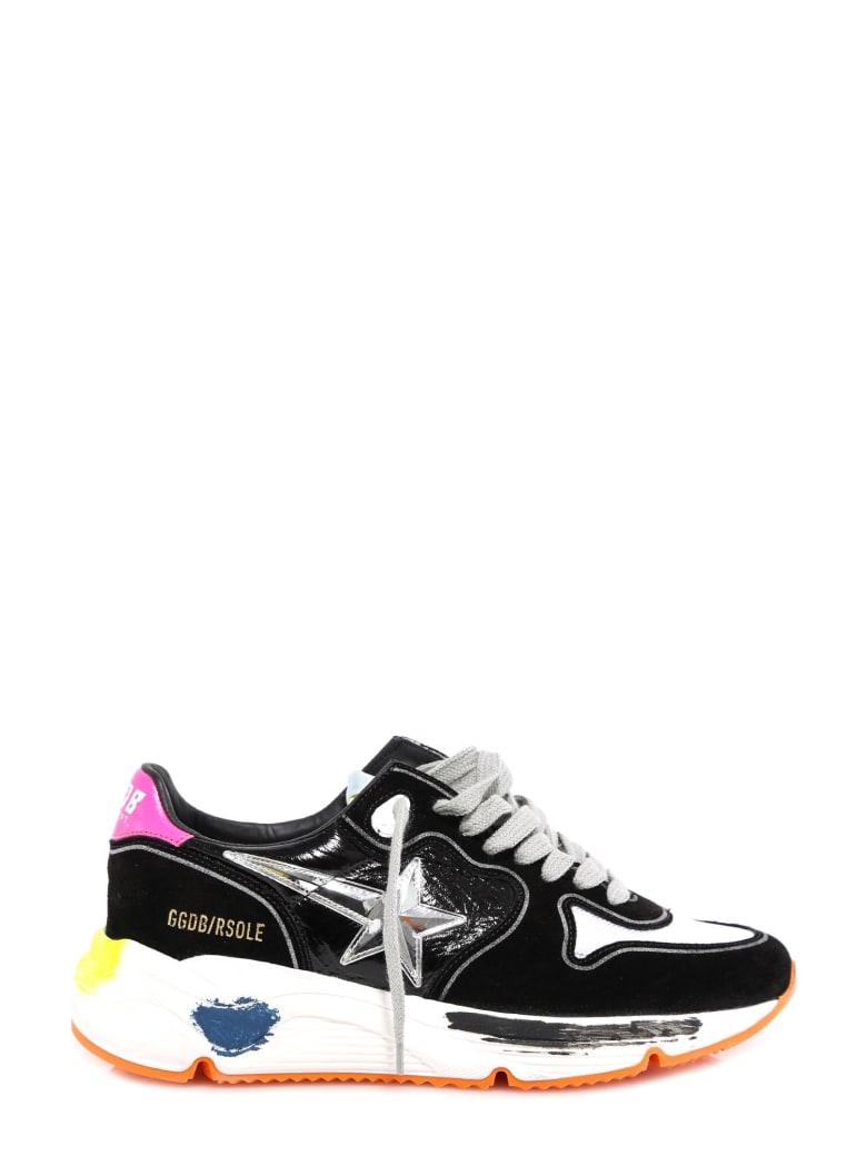Golden Goose Running Sole Sneakers - Black