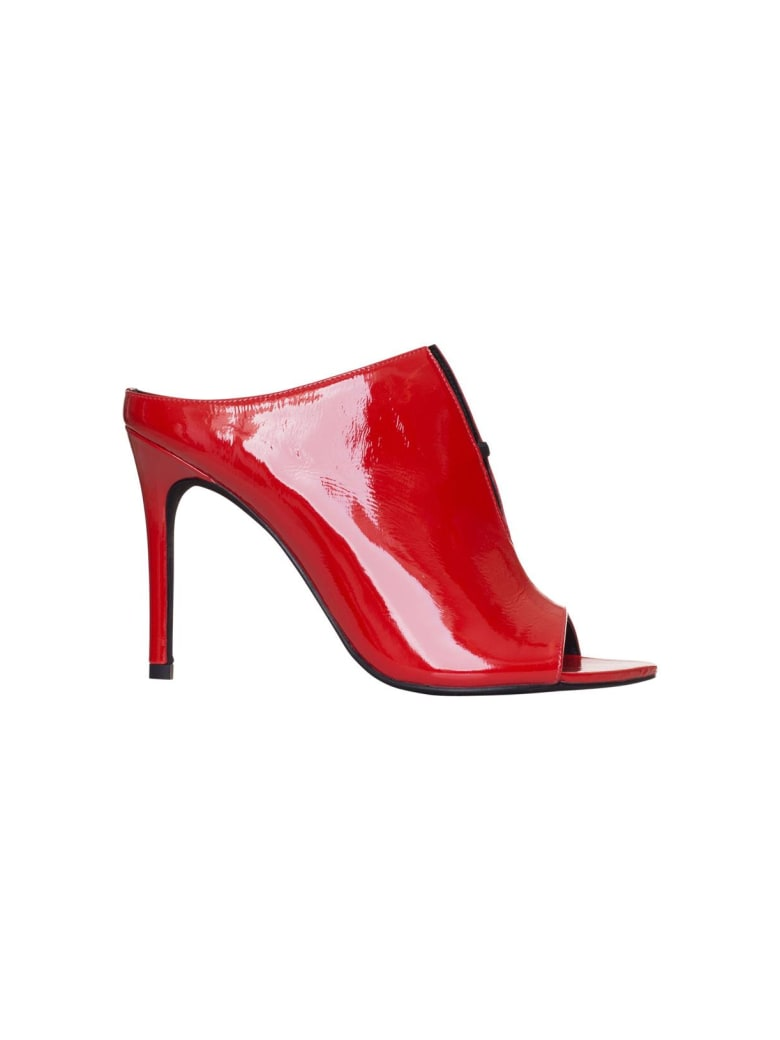 Jeffrey Campbell Exhale In Red - ROSSO