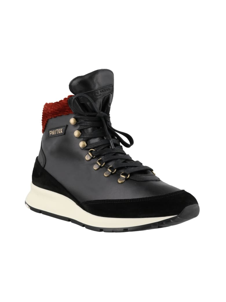 Philippe Model Trekking Sneakers - Black