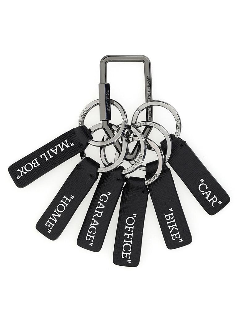Off-White Key Ring - Black No Color