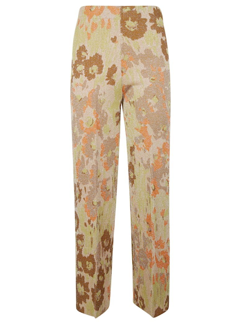 Circus Hotel Straight-leg Printed Trousers - Multicolor