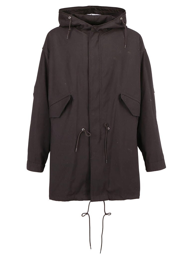 Raf Simons Parka Coat - Black