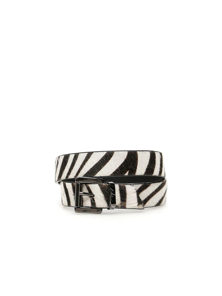 Dawni Zebra Print Straps - ZEBRATO (White)