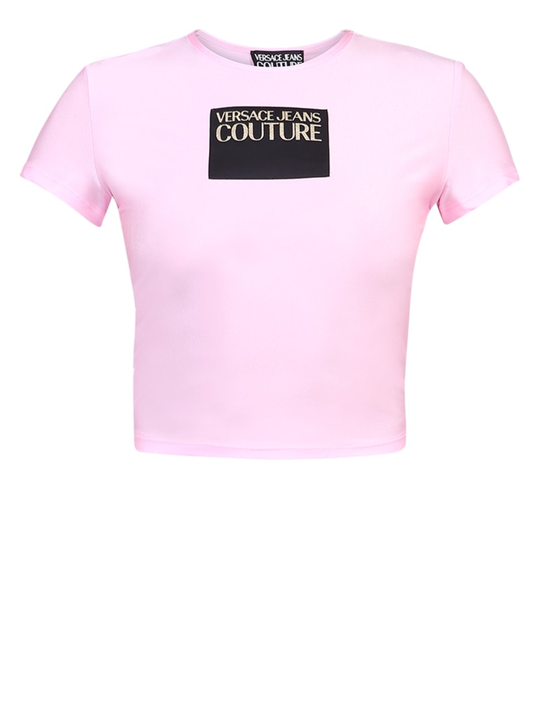 Versace Jeans Couture Branded T-shirt - Pink