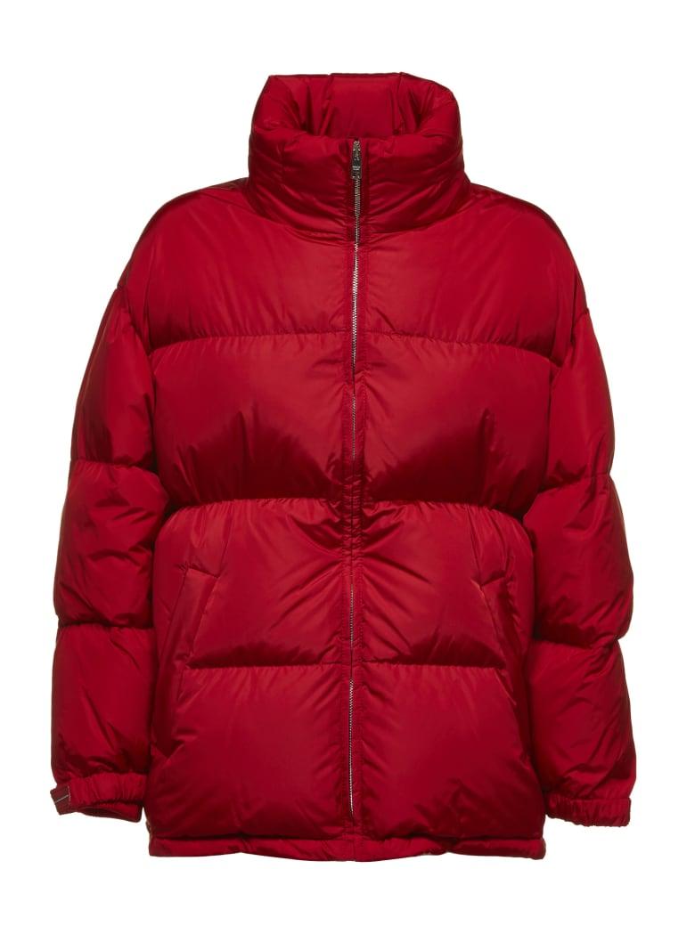 Prada Linea Rossa Down Jacket - Rosso