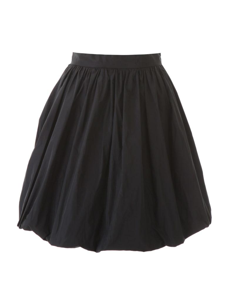 Patou Generous Faille Skirt - BLACK (Black)