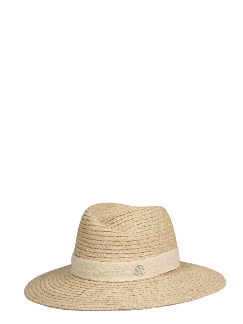 Maison Michel Hat - Nude & Neutrals