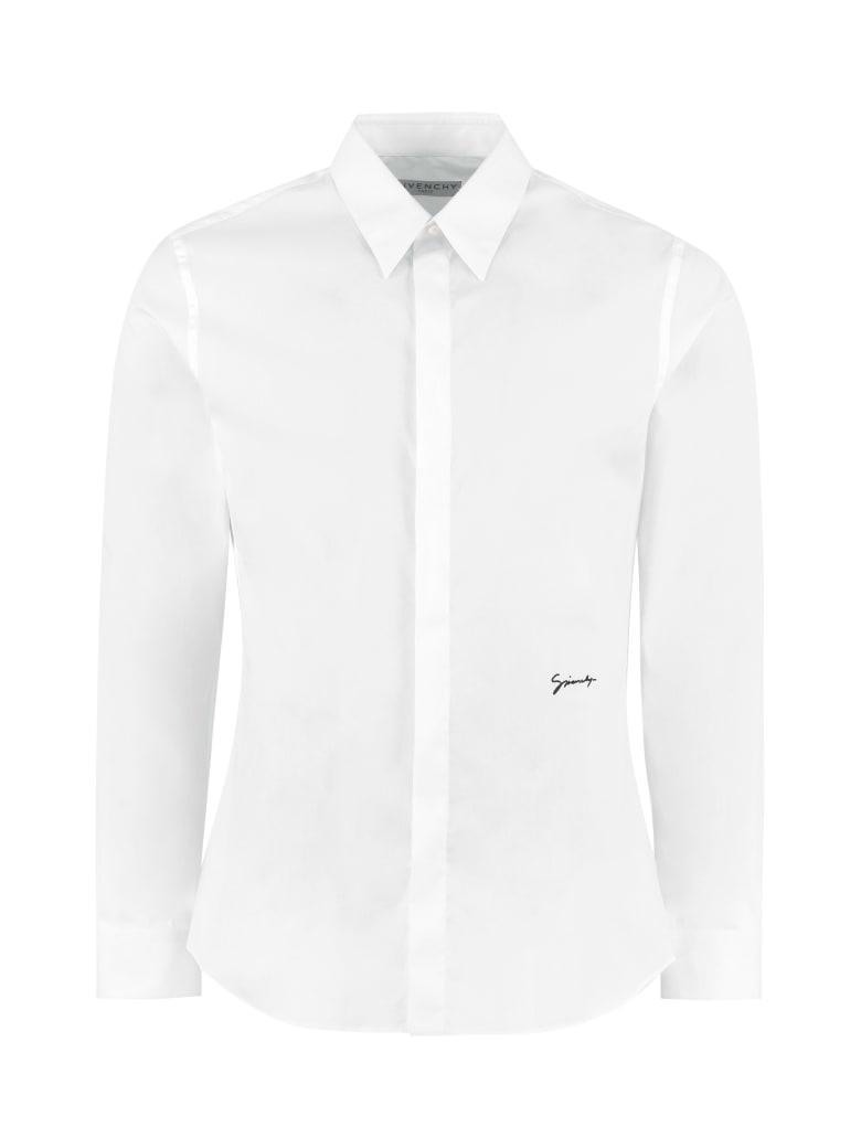 Givenchy Stretch Poplin Shirt - White