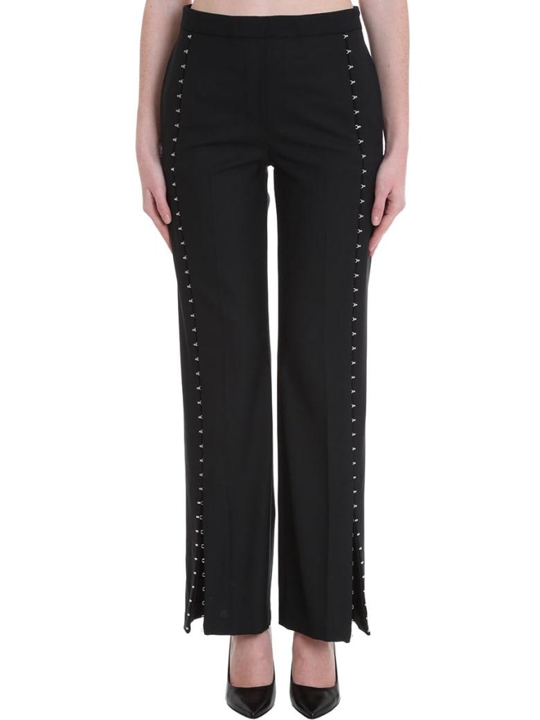 Neil Barrett Pants In Black Polyester - black