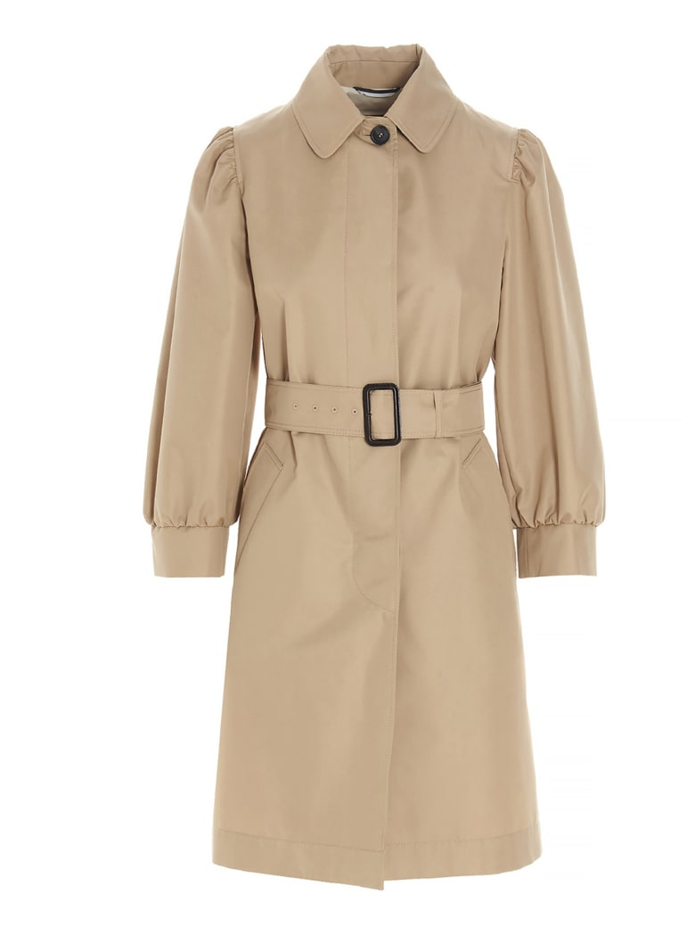 Weekend Max Mara 'melania' Trench Coat - Beige