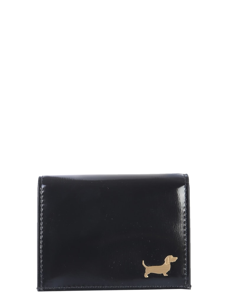 Thom Browne Hector Stud Card Holder - NERO