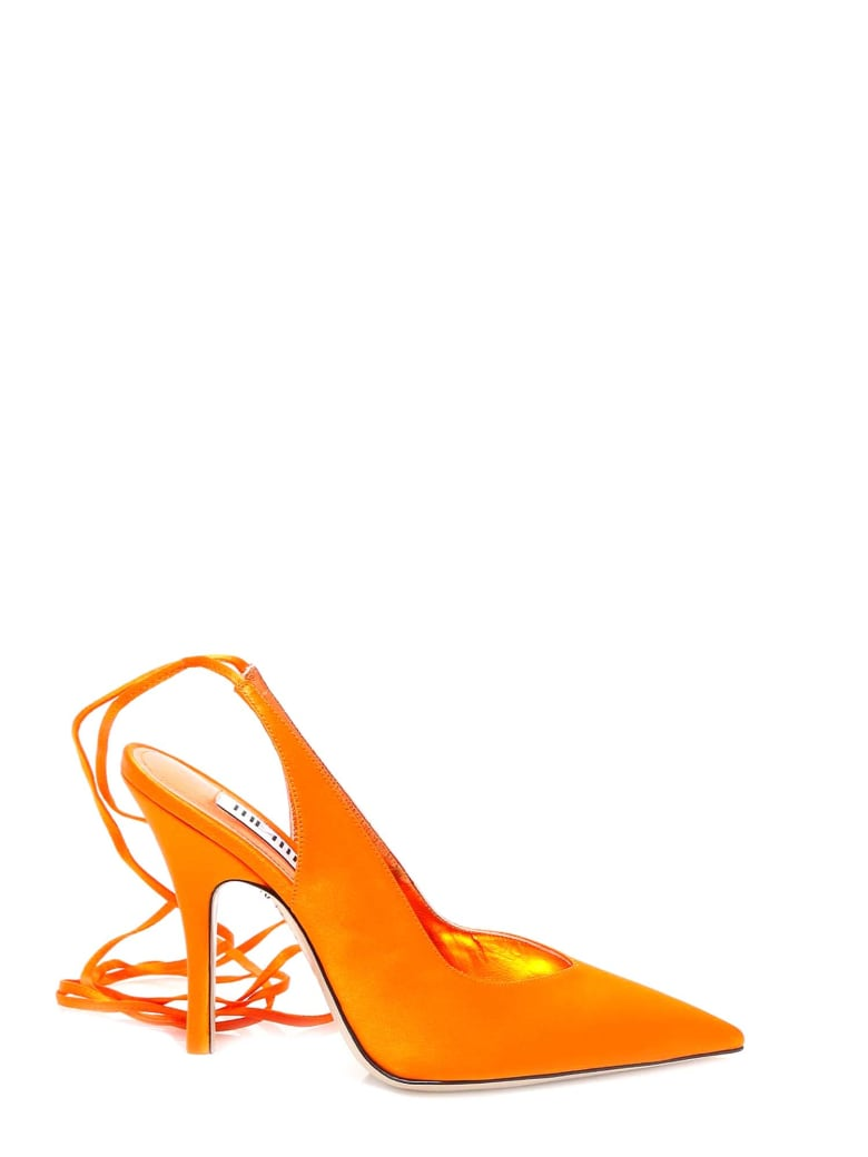 The Attico Slingback - Orange