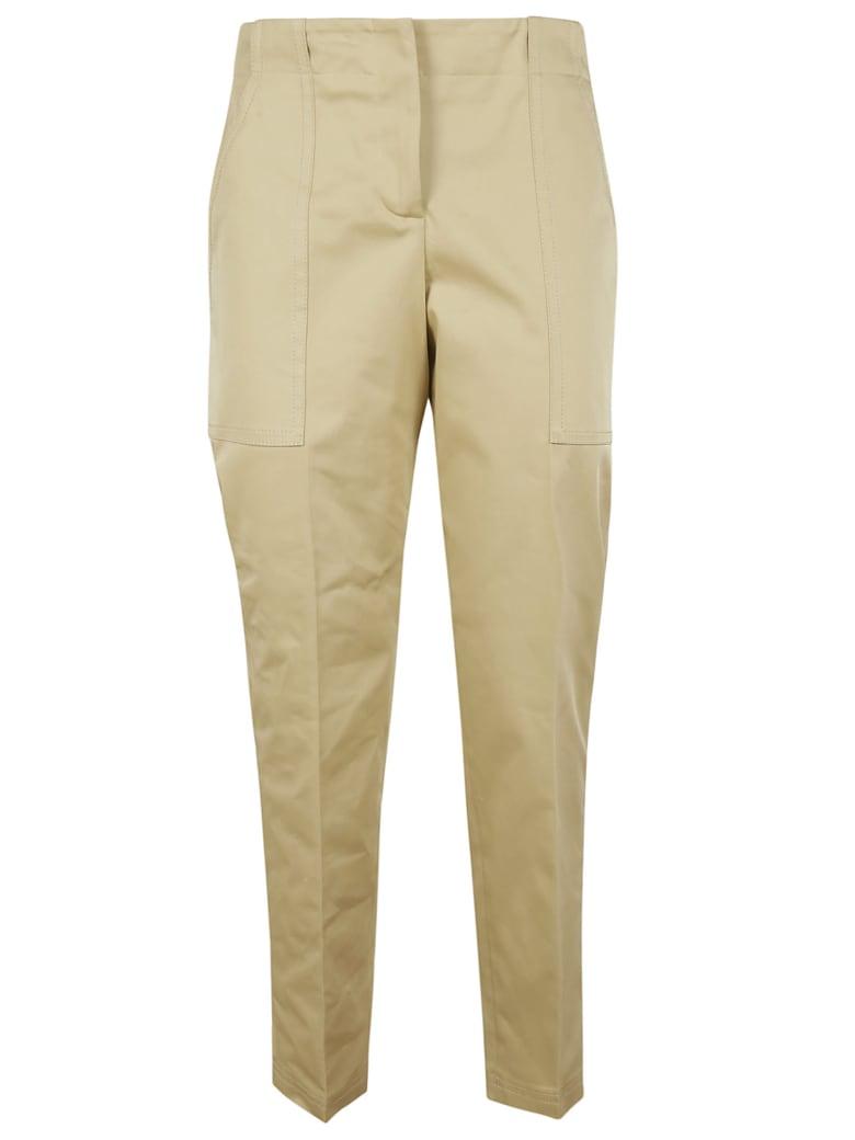 Ermanno Scervino Mid Rise Trousers - beige