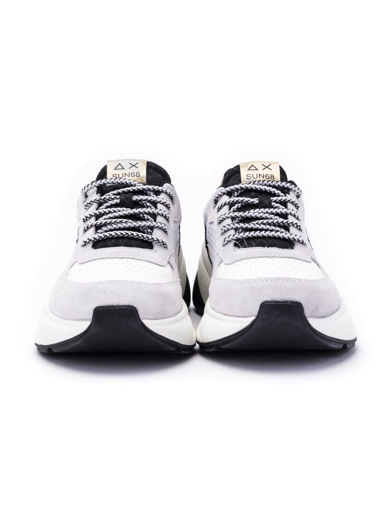 Sun 68 Sun68 Dani Sporty Sneakers - Black-white
