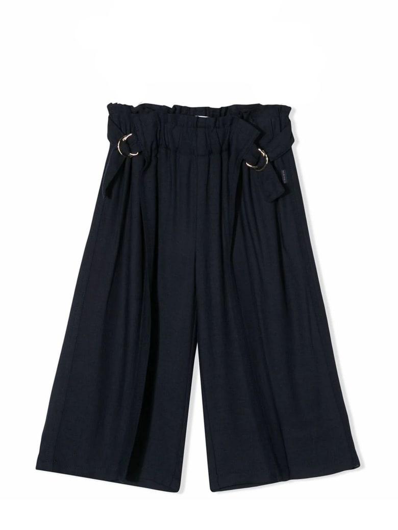Chloé Navy Blue Trousers - Blu