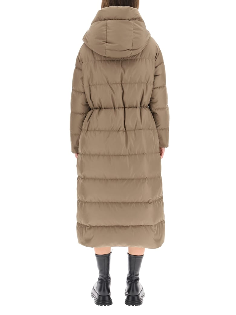 Bacon Cloud Giant Down Jacket - DK TAUPE (Beige)