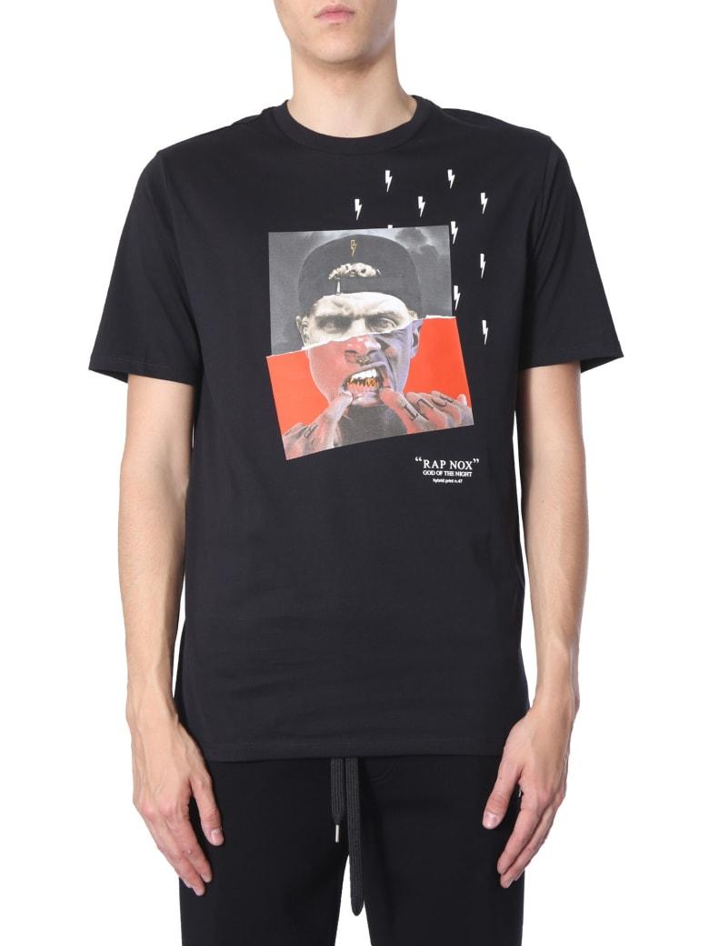Neil Barrett Oversize Fit T-shirt - NERO