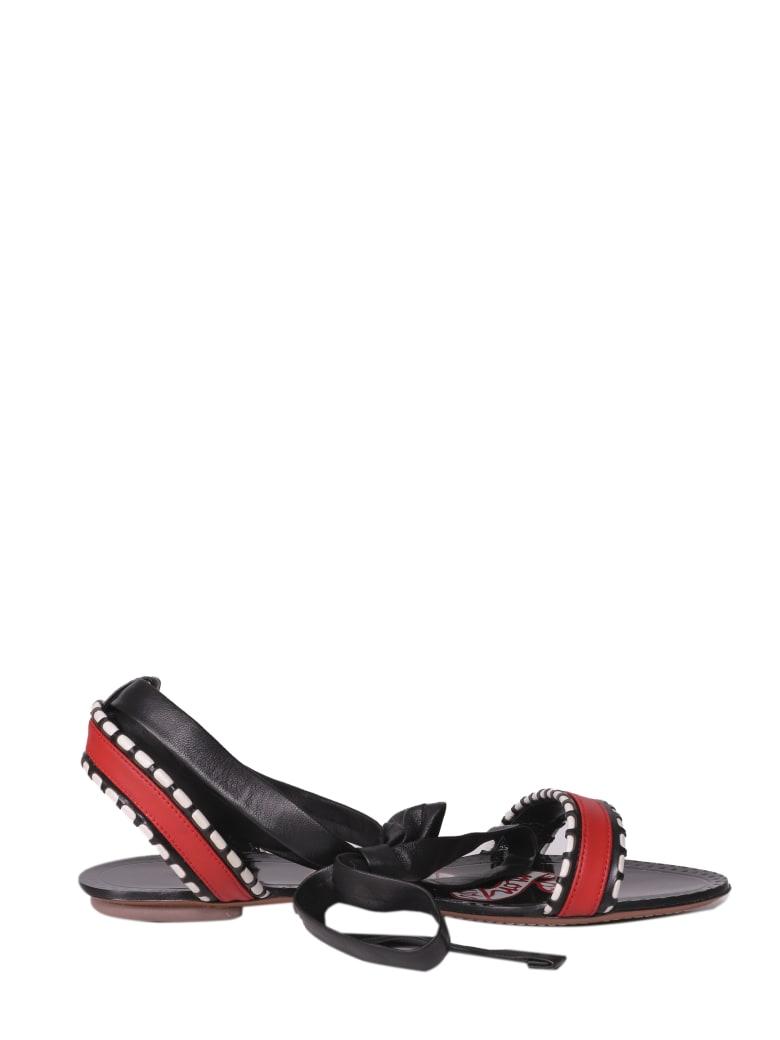 Alaia Azzedine Alaia Mon Coeur Sandals - Multi
