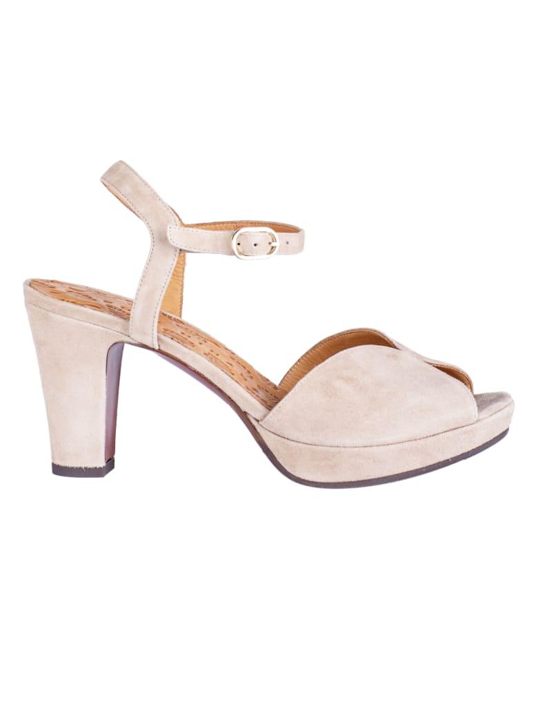 Chie Mihara Chunky Heel Sandals - Beige