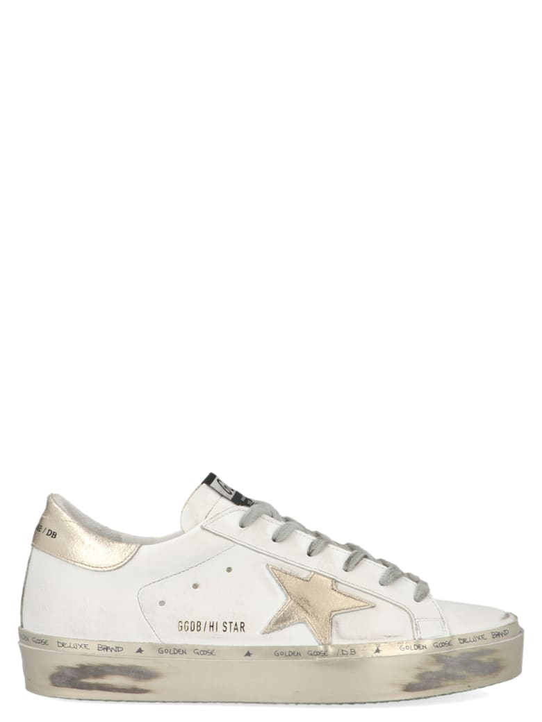 Golden Goose 'hi Star' Shoes - White