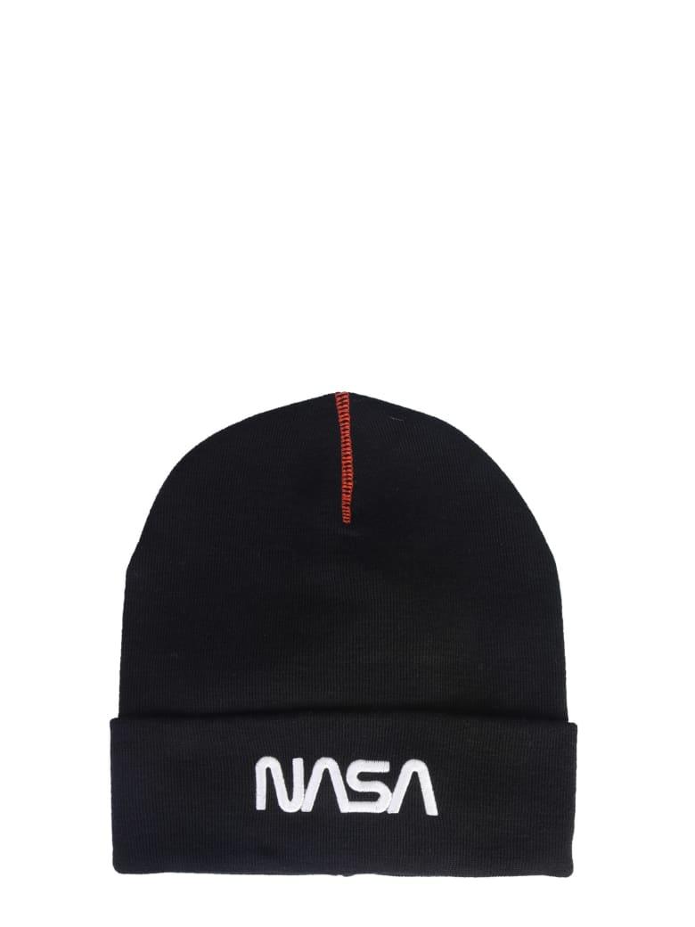 HERON PRESTON Nasa Embroidery Hat - NERO