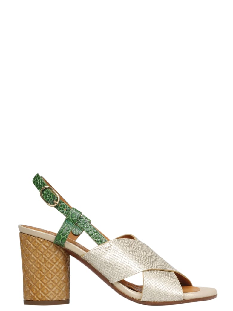 Chie Mihara Sandals - Opera Gold