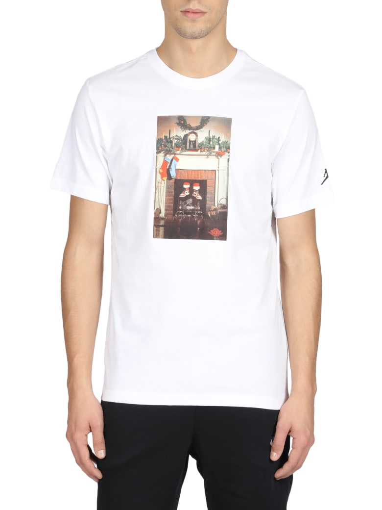 Nike Short Sleeve T-Shirt - Bianco