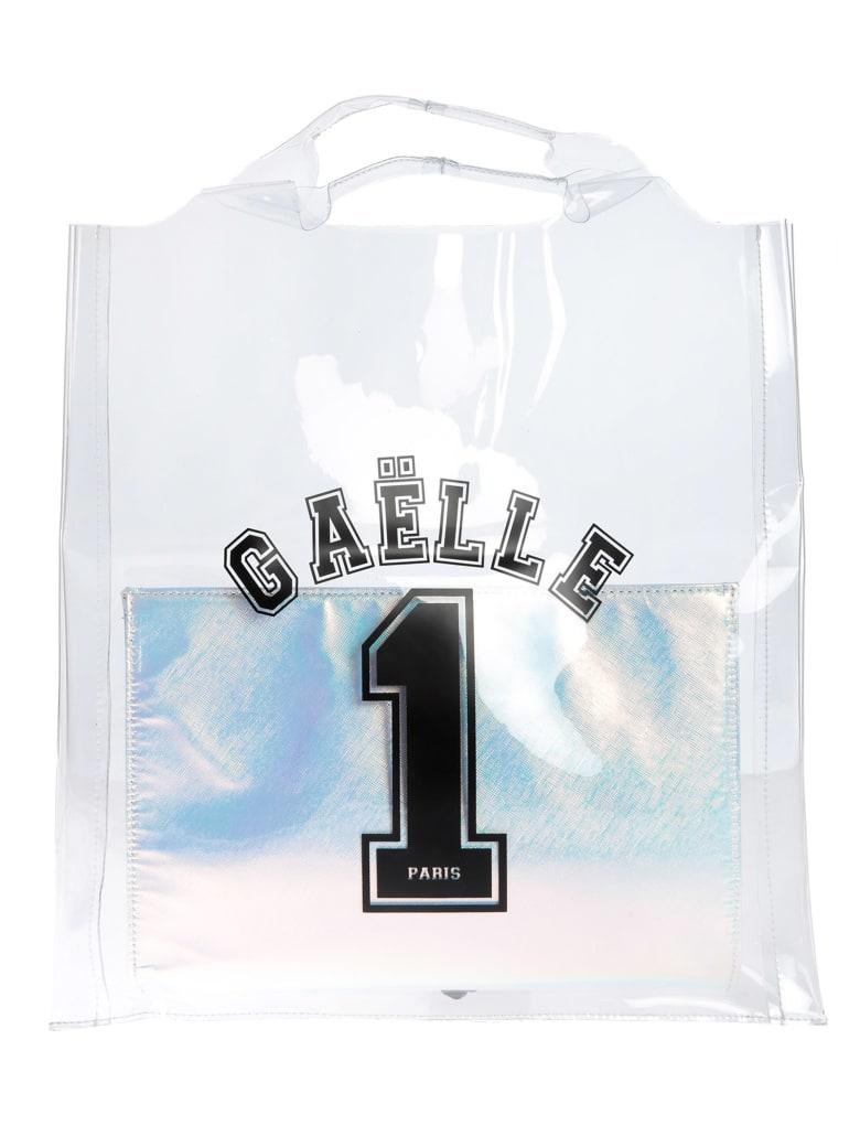 Gaelle Bonheur Logo Transparent Tote