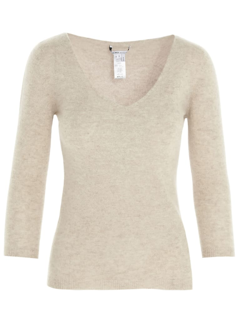 Agnona Sweater - Marrone