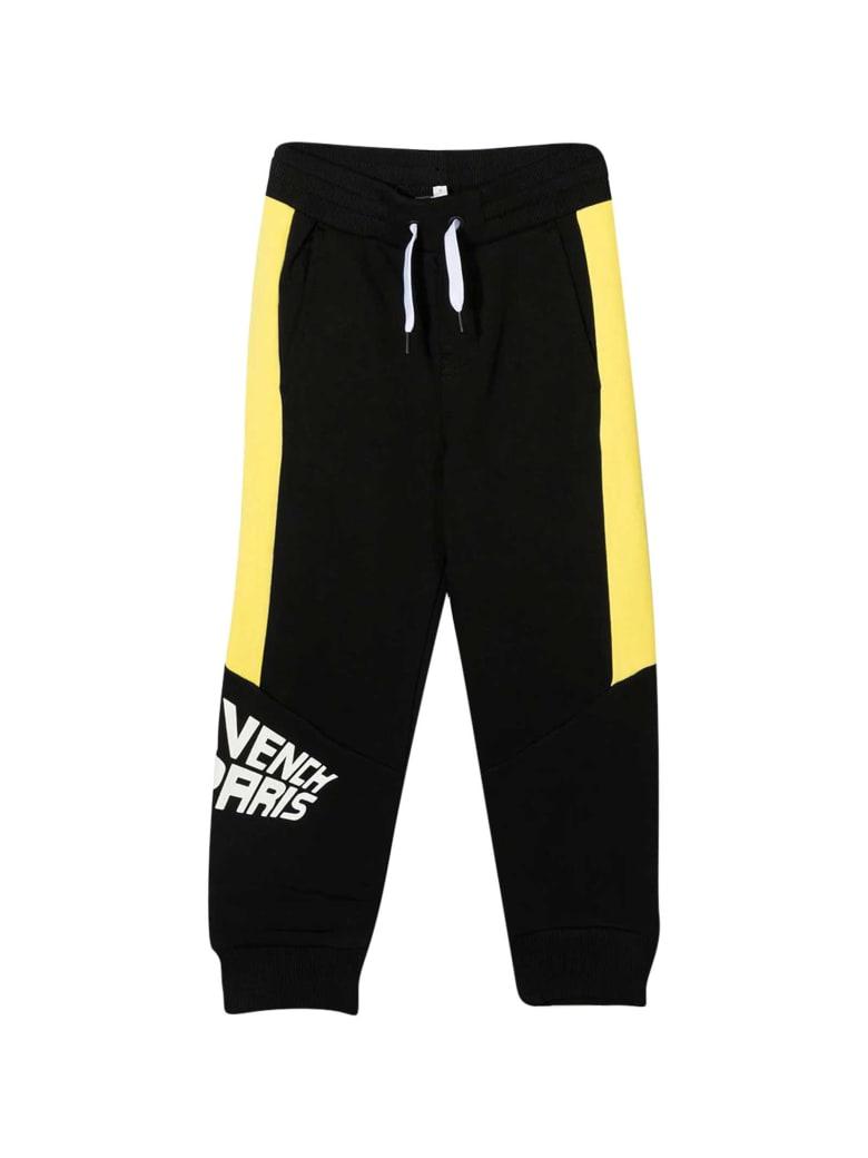 Givenchy Black Jogging Pants - Nero/giallo
