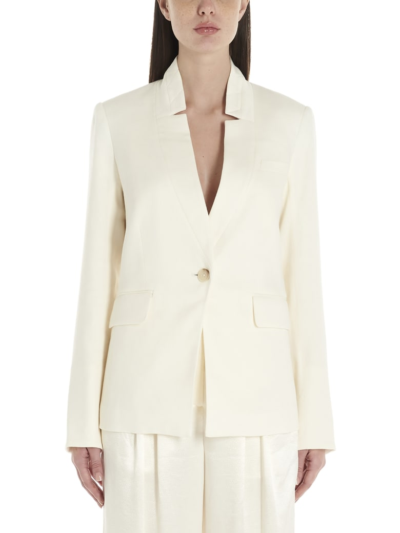 Veronica Beard 'upcollar' Jacket - White