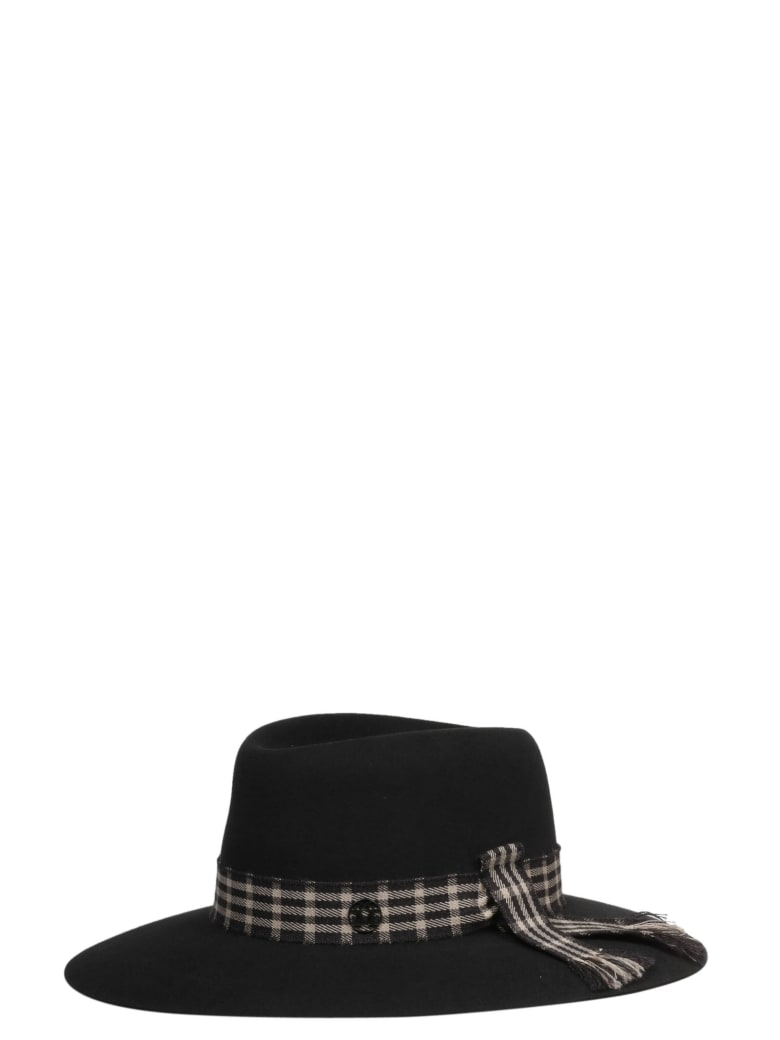 Maison Michel Hat - Sophisticated Grey
