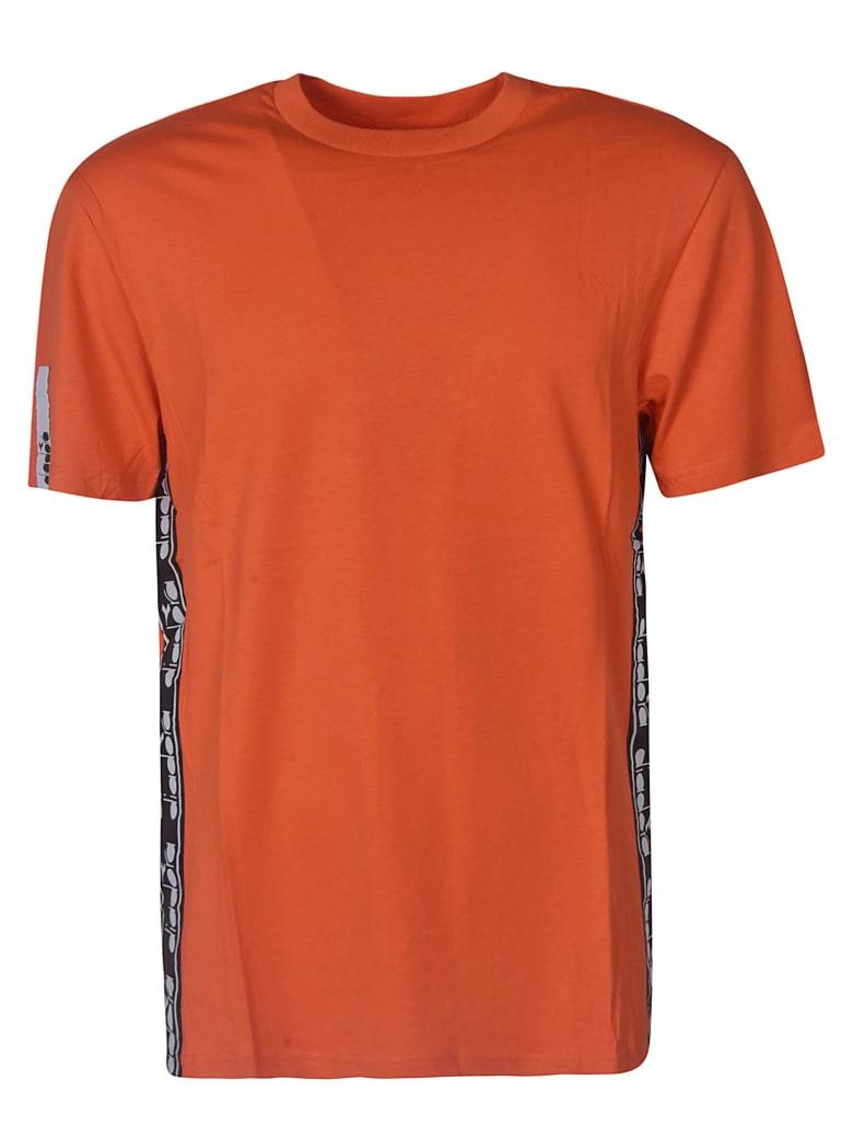Diadora Short Sleeve T-Shirt - Rosso ciliegino