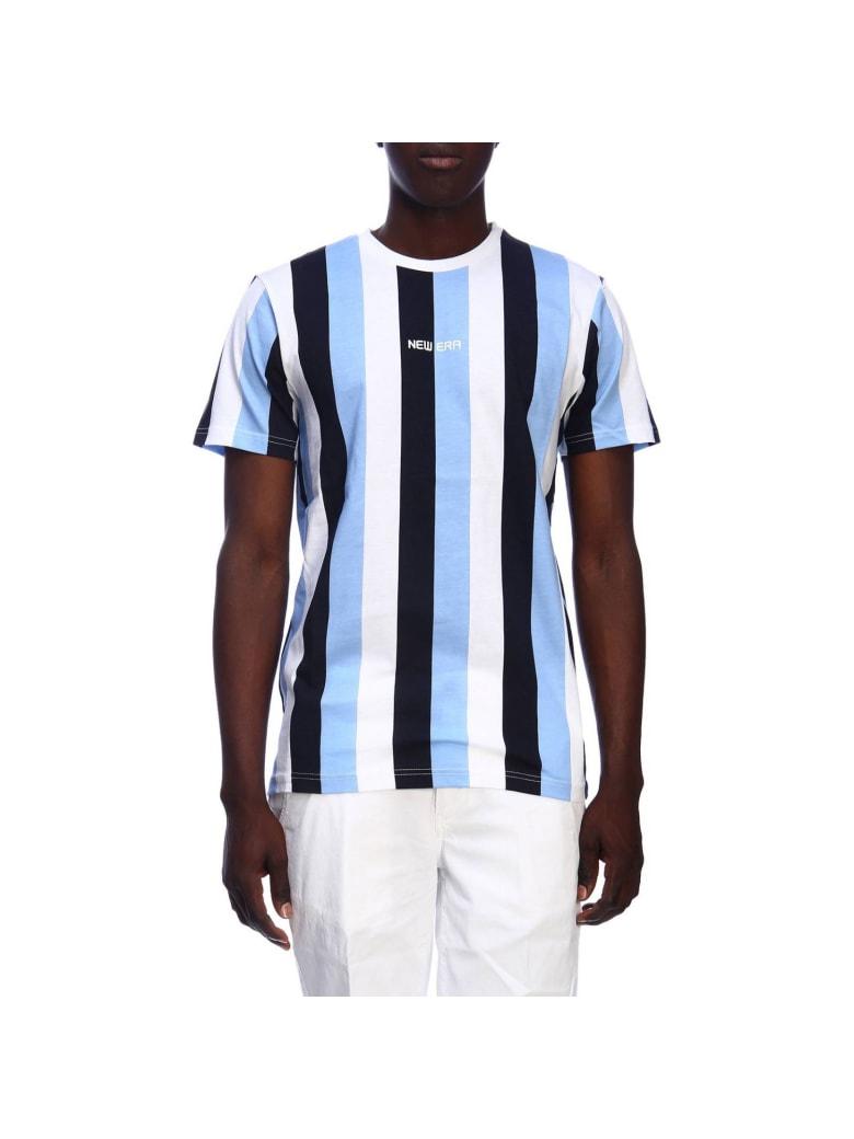 New Era T-shirt T-shirt Men New Era - gnawed blue
