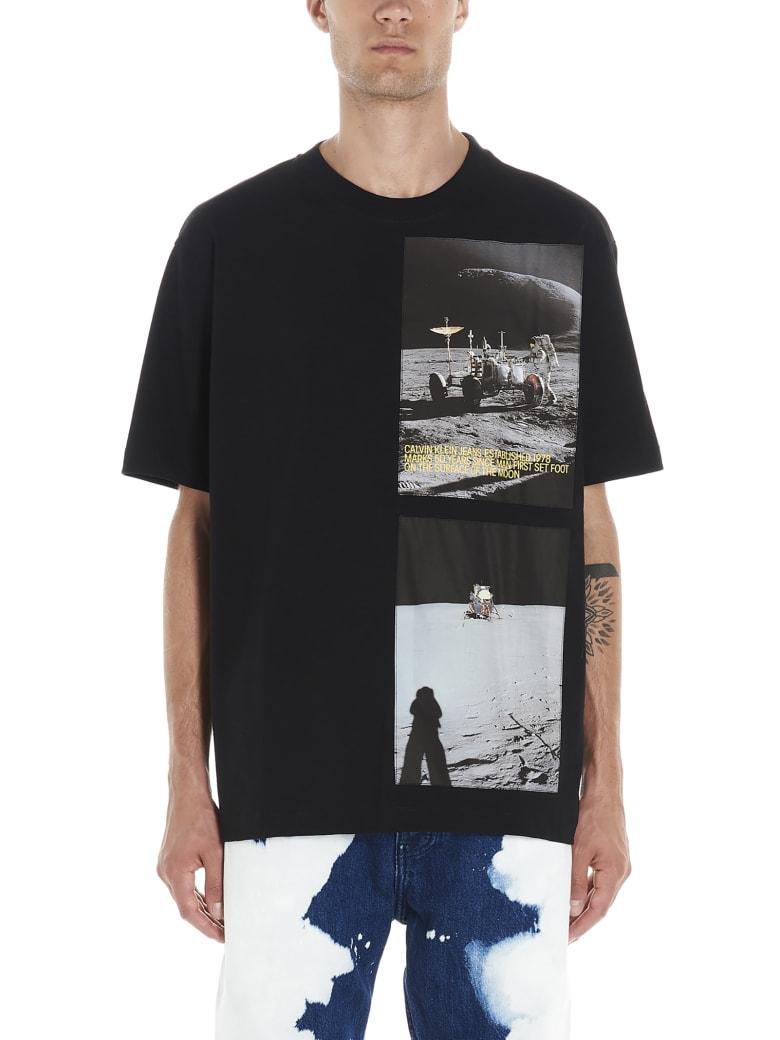 Calvin Klein 'moon Landing' T-shirt - Black