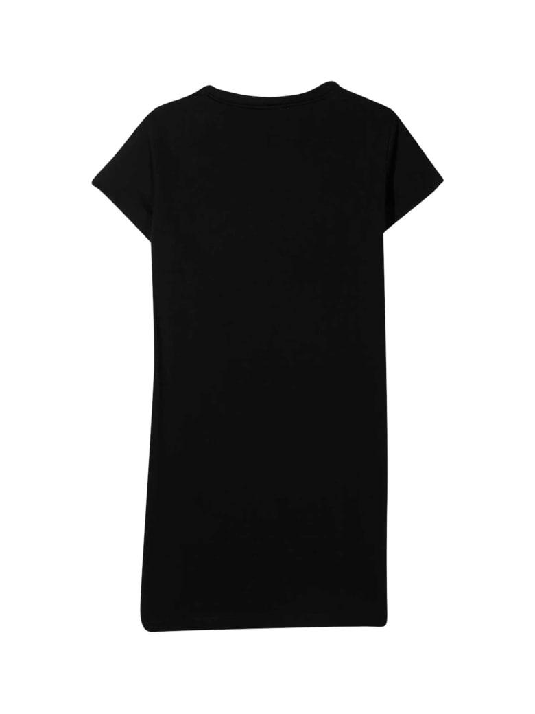 Balmain Black T-shirt Dress - Nero