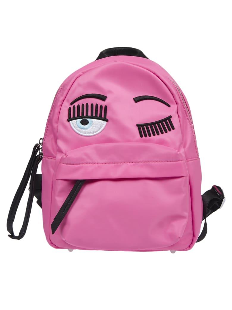 "Chiara Ferragni Pink ""flirting""backpack - Pink"